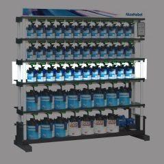 A1 1.7M Liter Shelf - 12 Positions Each