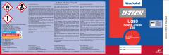 U-TECH U280 RM Single Stage Quart Labels 50 Pack