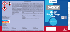 U-TECH U350 RM Single Stage Pail Labels 50 Pack