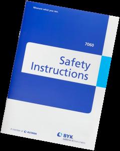 BYKG AMV Safety Instructions