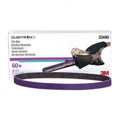 3M™  Cubitron™ II Feilenbänder 60+ Inhalt 10 Bänder 10 x 457 mm