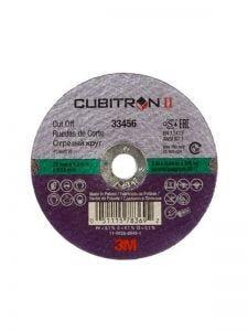 3M CUB II CUT OFF WHEEL 75X1MM 5PC 33456