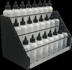 Dedoes Plastic Bottle Storage Rack