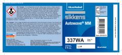 Sikkens Autowave® Label 337WA 8oz 10 Pack