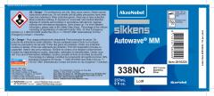 Sikkens Autowave® Label 338NC 8oz 10 Pack
