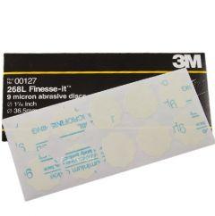 3M 9 MICRON DISC 401Q 32MM 100PC 00127