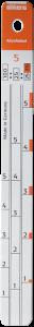 Sikkens Mixing Stick # 5 Mini (4:1:1)
