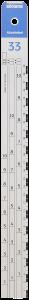 Sikkens Measuring Stick #33 (3.5:1:1) Standard Each