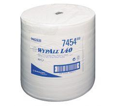 KIM WYPALL L40 WIPES-LG ROLL-WHITE 7454