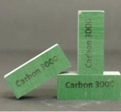 INP POLISH BLOCK CARBON 3000 GREEN 17030