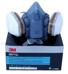 3M RESPIRATOR KIT+A1P2 FILTER MED 06772