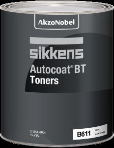 Sikkens Autocoat BT Toner B611 White 1 US Gallon