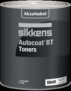 Sikkens Autocoat BT Toner B645 Bright Yellow Transparent 1 US Gallon