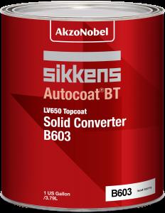Sikkens Autocoat BT LV650 B603 Topcoat Solid Converter 1 US Gallon