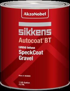 Sikkens Autocoat BT LV650 SpeckCoat Gravel 1 US Gallon