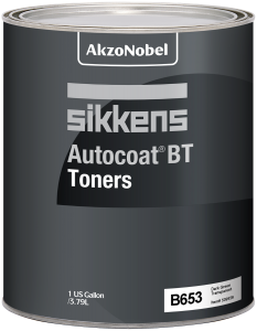 Sikkens Autocoat BT Toner B653 Dark Green Transparent 1 US Gallon