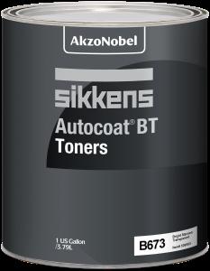Sikkens Autocoat BT Toner B673 Bright Maroon Transparent 1 US Gallon
