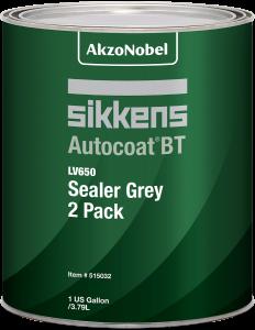 Sikkens Autocoat BT LV650 Sealer Grey 2 Pack 1 US Gallon
