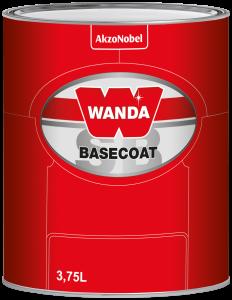 Wanda Basecoat Color MM 2007 Metallic Medium II 3.75L