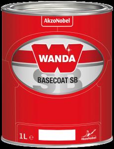 Wanda Basecoat Color MM 2203 Dark Red Transparent 1L