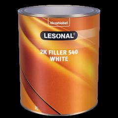 Lesonal 2K Filler 540 White wypełniający biały 3L