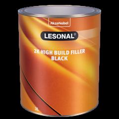 Lesonal 2K High Build Filler Black 3L