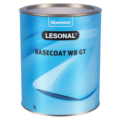 Lesonal Basecoat WB GT MM 81 Red Maroon Transparent 1L