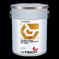 U-TECH E250 DTM Black Epoxy Primer 5 US Gallons