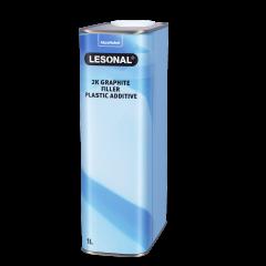 Lesonal 2K Graphite Filler Plastic Additive 1L