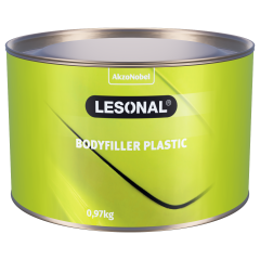 Lesonal Bodyfiller Plastic SB Set 1kg