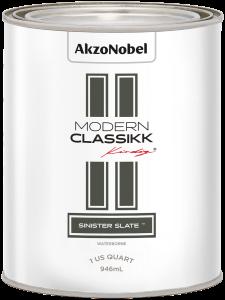 Modern Classikk Sinister Slate Waterborne 1 US Quart