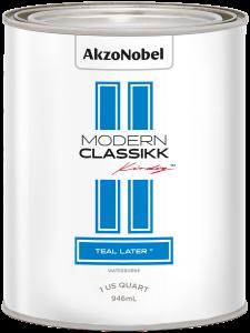 Modern Classikk Teal Later Waterborne 1 US Quart