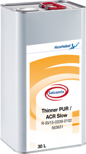 SAL PUR/ACR-THINNER SLOW 30L