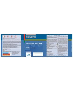 Sikkens Autobase Plus® Labels/Pint Each