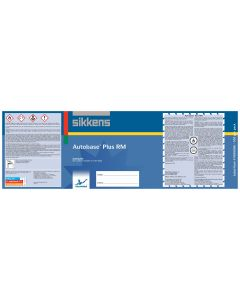 Sikkens Autobase Plus® Labels/Quart Each