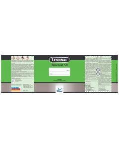 Lesonal Basecoat SB Quart Mixed Color Label Each