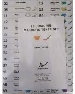 Lesonal WB MM Toner Magnet Set Each