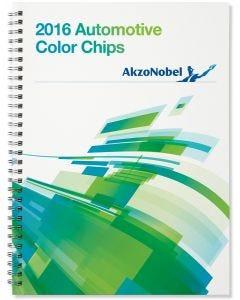 2016 AkzoNobel Color Chip Book Each