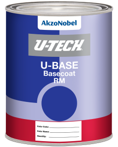 U-TECH UBASE RM Basecoat Quart Labels Each