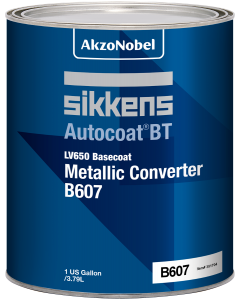 Sikkens Autocoat BT LV650 B607 Basecoat Metallic Converter 3.75 Liters