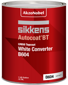 Sikkens Autocoat BT LV650 B604 Topcoat White Converter 1 US Gallon