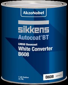 Sikkens Autocoat BT LV650 B608 Basecoat White Converter 1 US Gallon