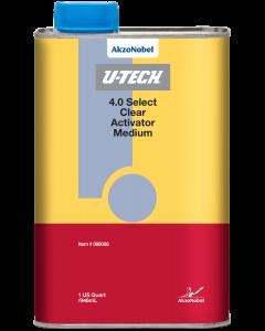 U-TECH 4.0 Select Clear Activator Medium 1 US Quart