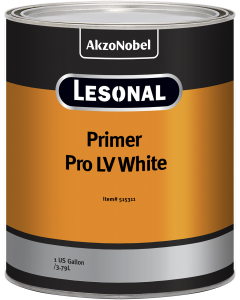 Lesonal Primer Pro LV White 1 US Gallon