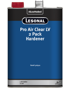 Lesonal Pro Air Clear LV 2 Pack Hardener 1 US Gallon