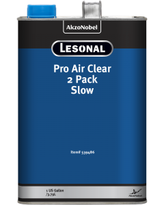 Lesonal Pro Air Clear 2 Pack Slow 1 US Gallon