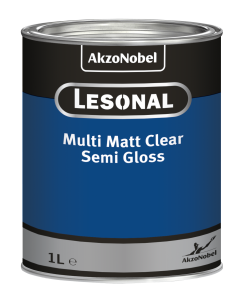 Lesonal Multi Matt Clear Semi Gloss 1L