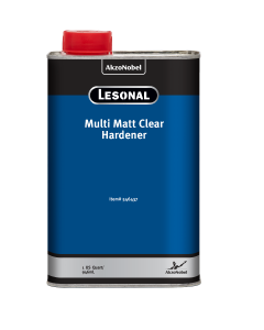 Lesonal Multi Matt Clear Hardener 1 US Quart