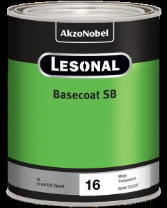 Lesonal Basecoat SB 16 White Transparent 1L