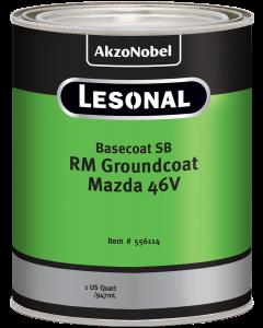 Lesonal Basecoat SB Ready Mix Groundcoat Mazda 46V 1 US Quart